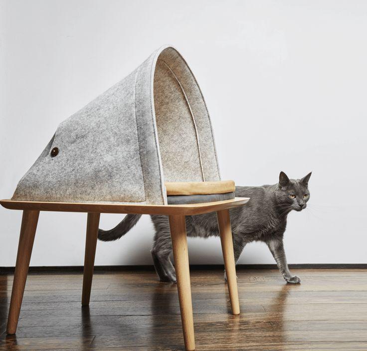 Produktdesignerin Guillaume Gadenne Und Meyou Gründer Aude Sanchez  Gestalten Moderne Katzenmöbel, Die Für Den Komfort Der Haustiere Sorgen Und  Zugleich ...
