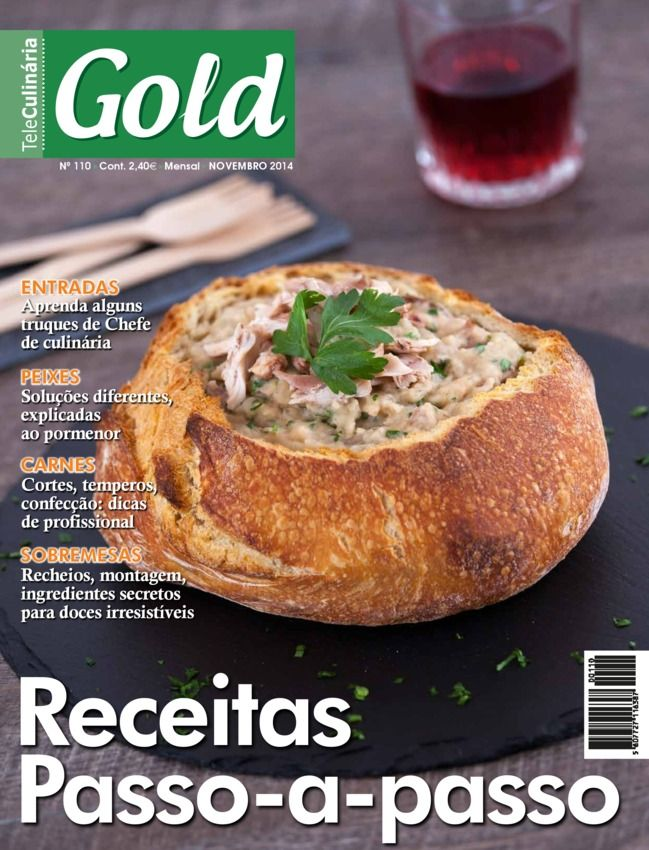TeleCulinária GOLD Novembro 2014 edition - Read the digital edition by Magzter on your iPad, iPhone, Android, Tablet Devices, Windows 8, PC, Mac and the Web.