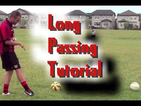 Football Long Passing Technique   Football Passing Tutorial - Hit longer passes with more accuracy and consistency! https://www.youtube.com/watch?v=RAQ6yCh0RQM - SHARE and TAG a soccer player!
