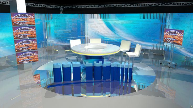 Tip proiect: Proiectare 3D, Design 3D, Simulare 3D Client:A7 TV Design:Sergiu A. Nap Timp executie: 90 ore Detalii: simulare 3D si proiectare 3D studio A7 TV.