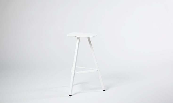 LIXHT ST-002W Counter Stool | #LIXHT #Minimal #Furniture #Design