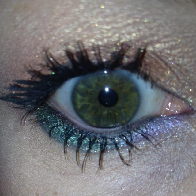 An eyeshadow look I liked