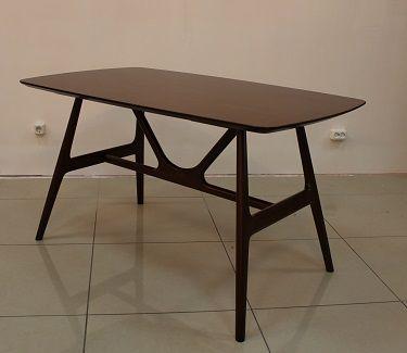 Кухонный/Обеденный стол M-CITY Стол YA Т-170 X-Color 135x80xH74.5 /темный орех - купить M-CITY Стол YA Т-170 X-Color 135x80xH74.5 /темный орех в интернет магазине mebelstol.ru