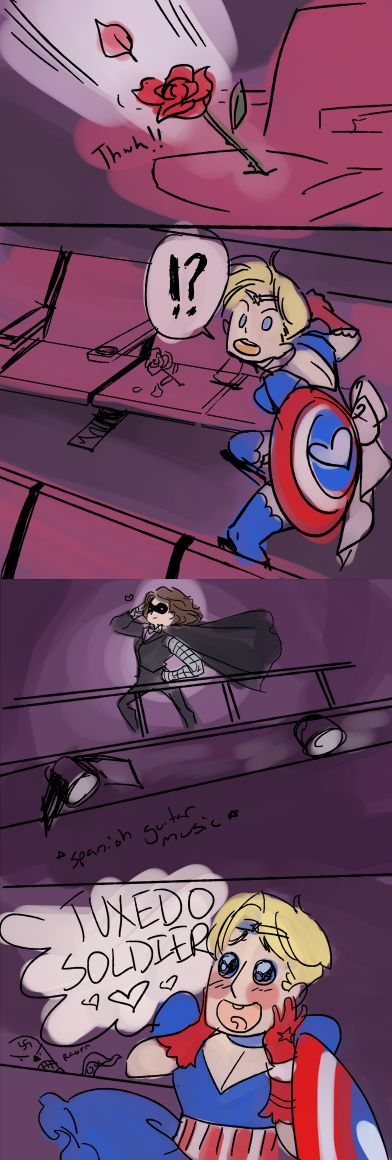 http://hackedmotionsensors.tumblr.com/post/80716107970/throw-your-magical-patriotic-tiara-steve