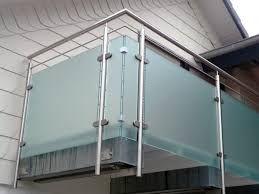 Výsledok vyhľadávania obrázkov pre dopyt balkongeländer edelstahl glas