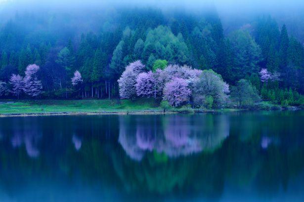 Lake Nakatsuna, Nagano, Japan: photo by しょうなんしろう