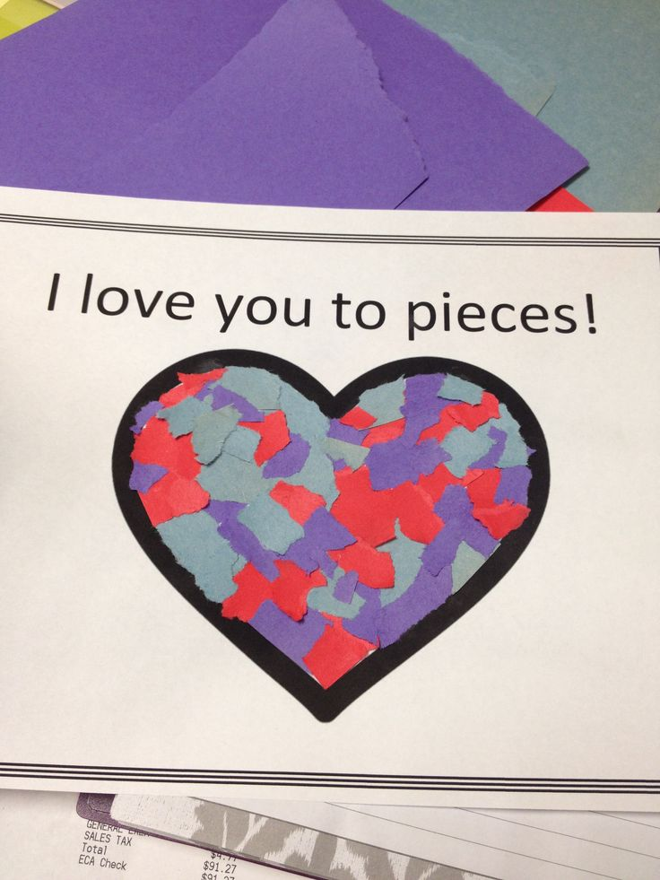 i love you to pieces craft 17 best images about shapes and colors learn on 7793