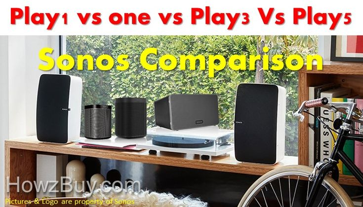 Sonos Play1 vs Sonos one vs Play3 vs Play5 Compact Wireless Speaker Comparison & review. Our recommendation is based on room size & budget, smart functions like alexa compatiblity, voice control, price you are paying for, compatibility, installation requirements etc. our guide to select right sonos wifi home speakers