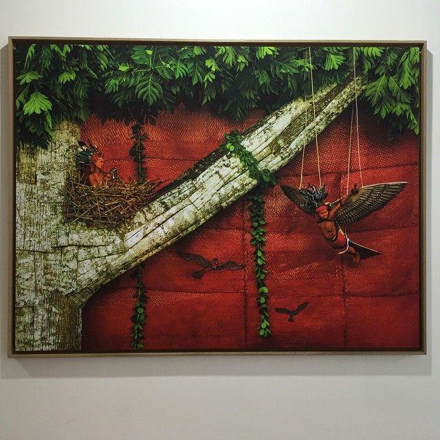 Ntembe, Wale epervier , Patrick Willocq at #galeriebaudoinlebon