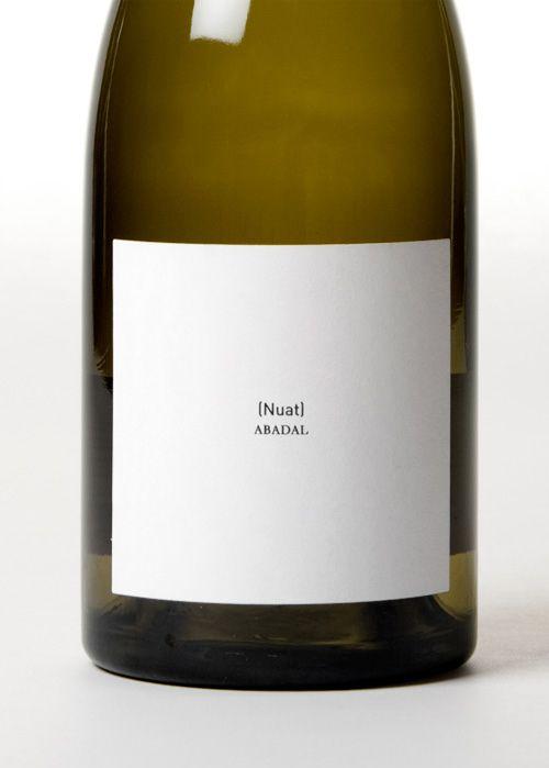 Nuat wine by clase bcn #minimal design wine vinos maximum vinho