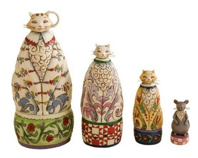 Cat Dolls (Matryoshka).