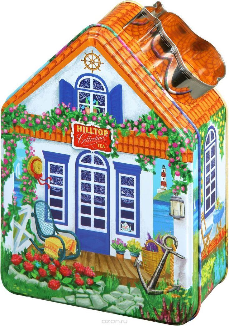 362,82 = Hilltop Морской домик с рецептом Эрл Грей черный листовой чай, 100 г в интернет-магазине OZON.ru