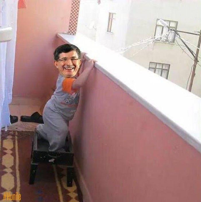 Davutoğlu balkon konuşmasına hazırlanıyor (yatırım tavsiyesi değildir)