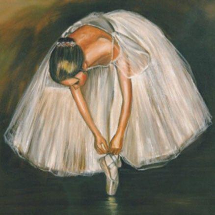 Desenho (pinturas) de Bailarinas! (bailarina)
