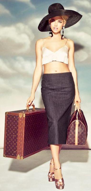 Miss M's Girls Trip...Luxury Travel...Globe trotter.....LV
