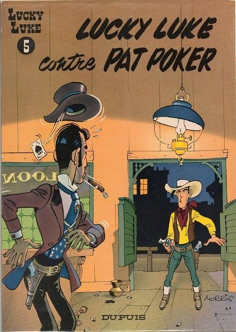 Lucky Luke -5- Lucky Luke contre Pat Poker - 1953