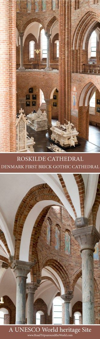 Roskilde Cathedral - Denmark first Brick Gothic Cathedral - www.RoadTripsaroundtheWorld.com