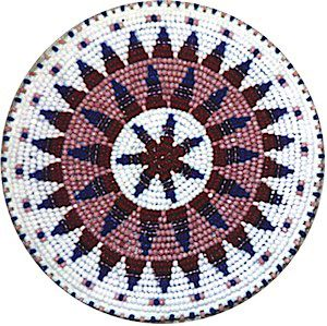 native american rosettes | Beaded Rosettes