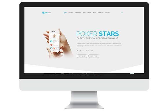 Best Poker Stars - HTML Template CreativeWork247 - Fonts, Graphics, Themes,...