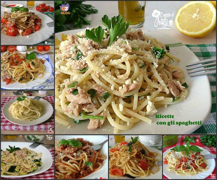 Una raccolta golosa di ricette con gli spaghetti,tipico piatto della cucina Italiana molto amato e apprezzato in tutto il mondo !