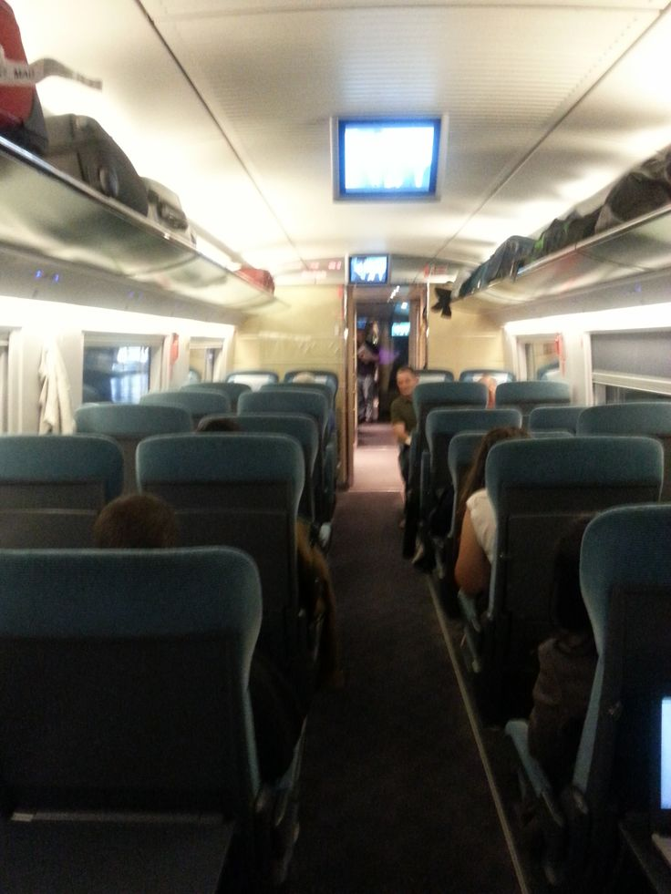 Rapid Train Madrid-Barcelona