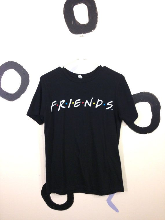 90s Friends T.V. Show T Shirt Size Small by badatpettingcats, $18.00