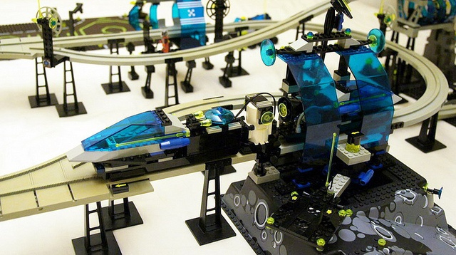 6991 Monorail Transport System #flickr #LEGO #classic #space