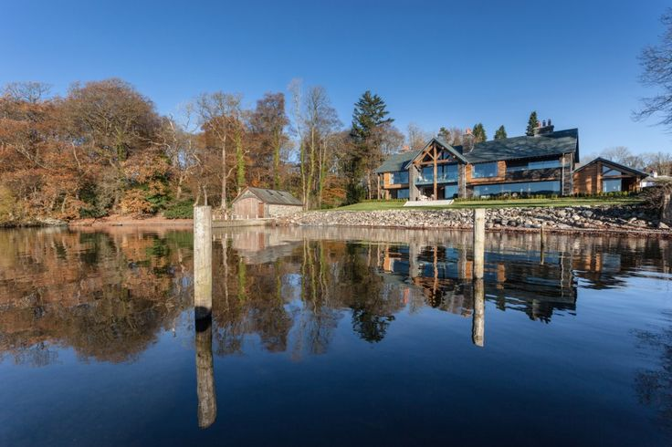 Grey Gables, a beautiful architect-designed lake house, sheltered on the edge of Lake Windermere within the Lake District National Park.  With uninterrupted views this Lakeland stone, oak pillared home's highlights include a boathouse and jetty affording direct access to the water, a home cinema. Learn More