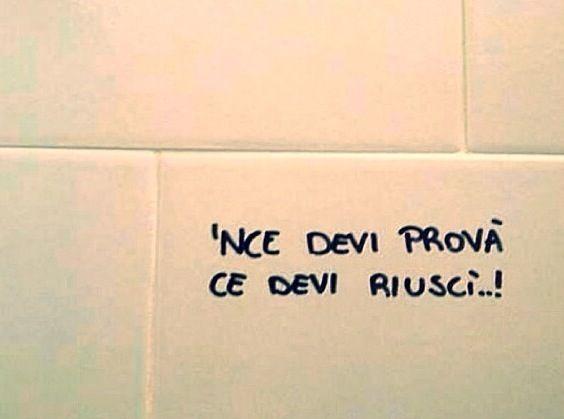 Scritto sui muri
