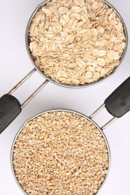 Steel cut oats -baked! | Breakfast | Pinterest