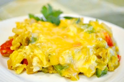 Cheesy eggs, Egg scramble and Eggs on Pinterest