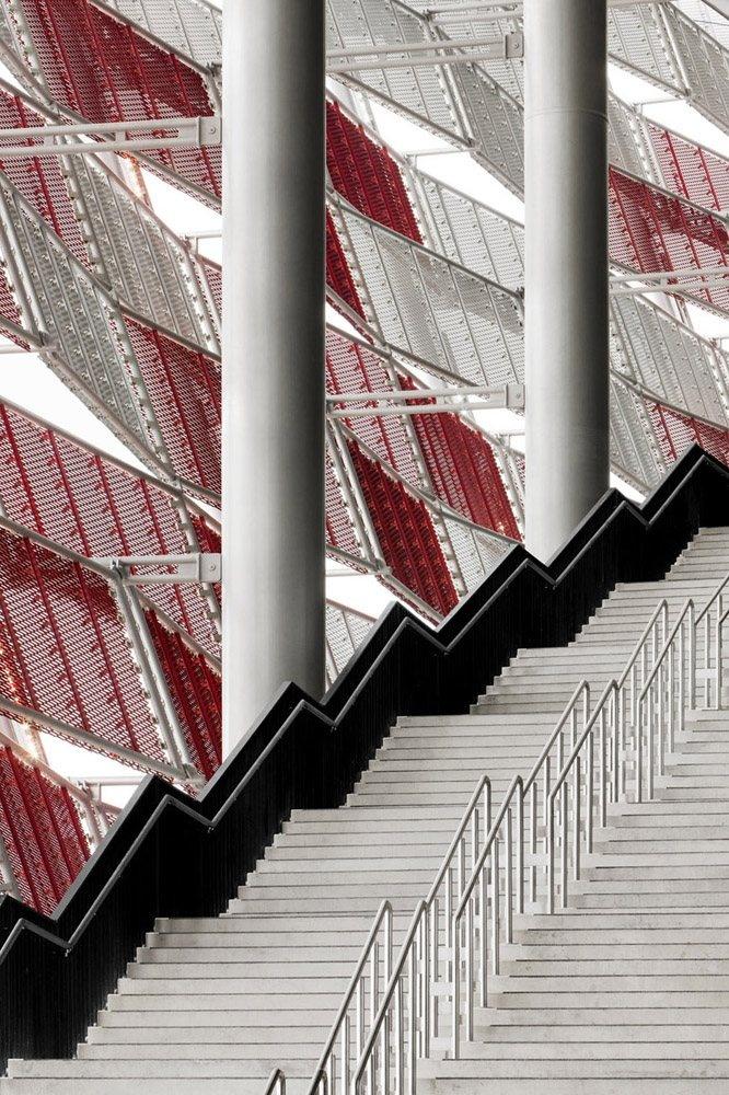 National Stadium Warsaw, Warsaw, 2007 by gmp Architekten #architecture #sport #stadium #modern #archilovers