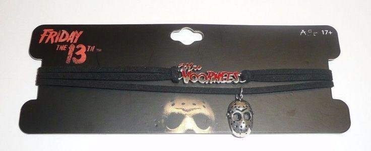 Friday the 13th Necklace Choker Set Jason Hockey Mask Mrs Voorhees Horror Movie #SGatNYC