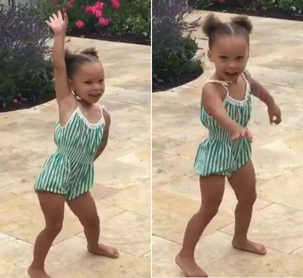 It's Riley Curry's third birthday, so watch her nae nae! Stephen Curry's adorable daughter stole the spotlight on her big day by showing off her incredible dance moves to 'Watch Me (Whip/Nae Nae)' and it's the cutest thing ever!