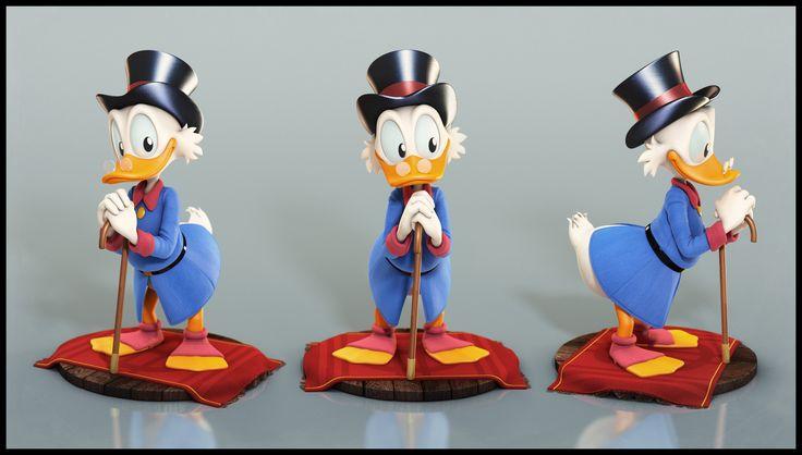 Uncle Scrooge - Portrait by Eder Carfagnini (2013)