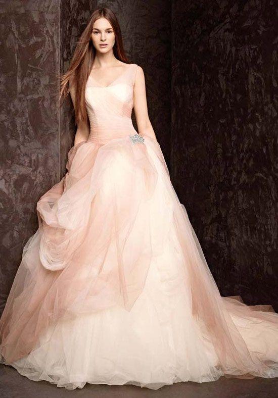 ハイセンスなドレス♡ピンクのチュールの花嫁衣装・ウェディングドレスのまとめ一覧です♡