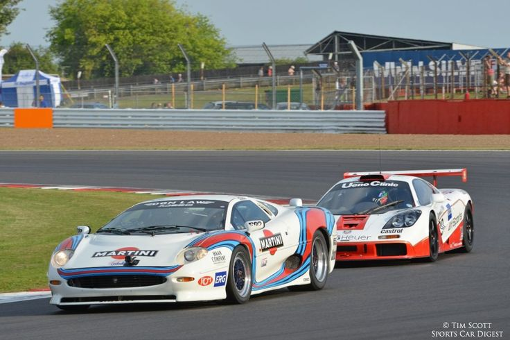 Jaguar XJ220 LM and McLaren F1 GTR