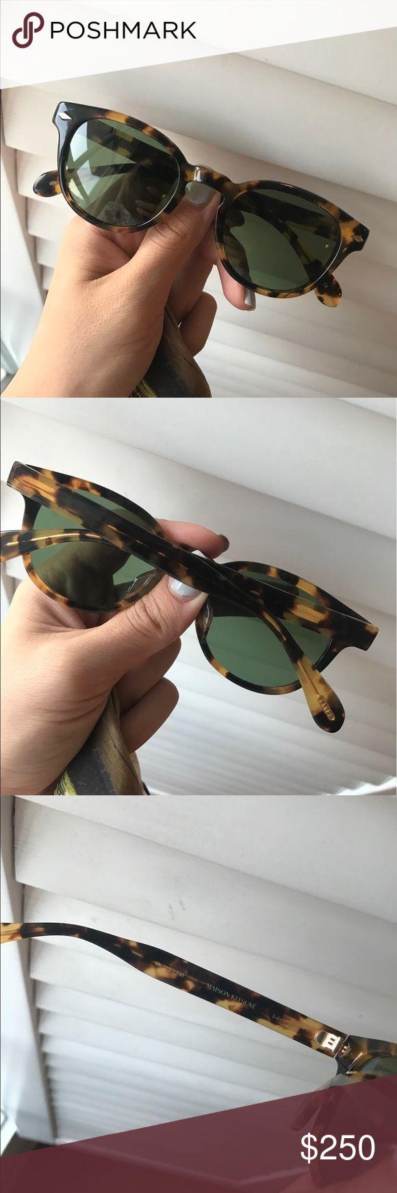 oliver peoples maison kitsune sunglasses Like new Oliver Peoples Accessories Sunglasses