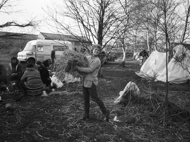Greenham Common camp, 1984 - The Independent