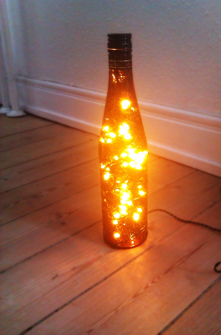 Inspirational Basically it us lights more specific a Havana Club bottle