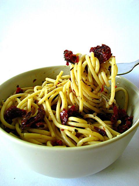 Just My Delicious: Makaron z Suszonymi Pomidorami