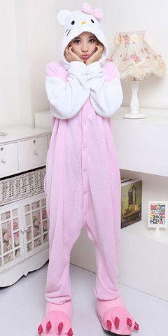 #Hello #Kitty Character Adult #Kigurumi #Onesie