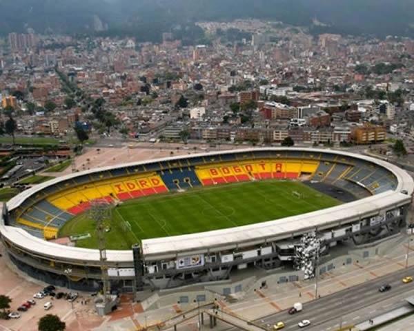 Estadio Nemesio Camacho El Campín, Bogotá, Colombia, 36 3431 espectadores Foto: oficial Alcaldía