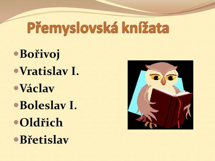 Přemyslovci Vláda přemyslovských knížat. - ppt stáhnout