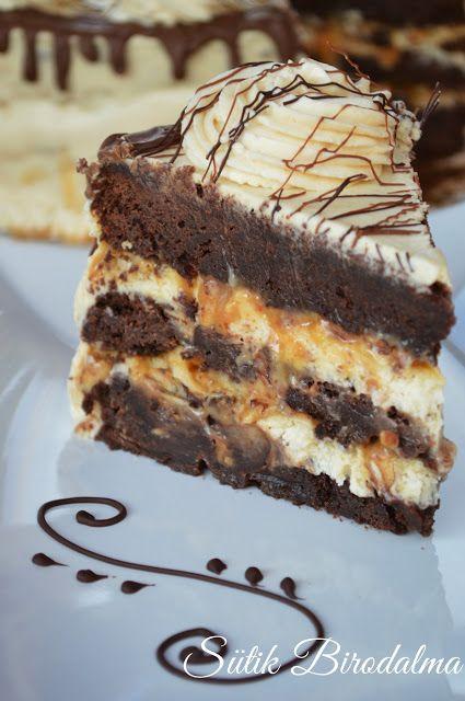 SÜTIK BIRODALMA: Snickers torta