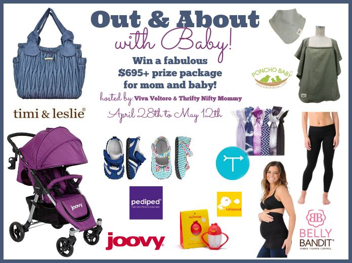 Out & About with Baby #Giveaway – $700 – US
