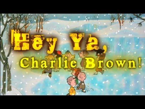 Hey Ya, Charlie Brown Christmas. Always makes me smile!  Love this!!!!  :-)