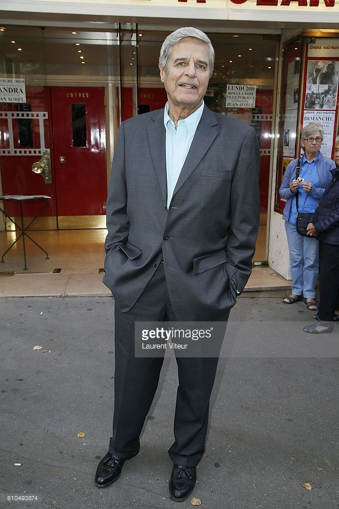 Actor Jean Sorel attends the Tribute to French Actor Jean Sorel at Mac Mahon Cinema on September 25, 2016 in Paris, France.