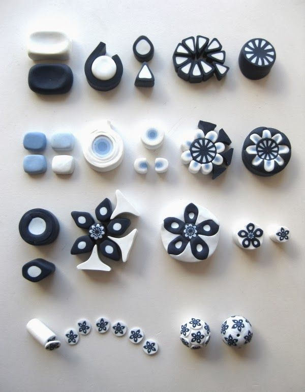448 best images about polymer clay tutorials millefiori canes on pinterest snowflakes. Black Bedroom Furniture Sets. Home Design Ideas