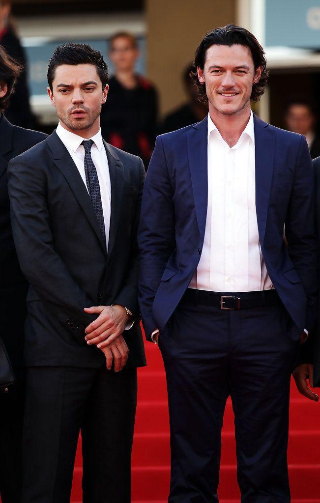 Dominic Cooper and Luke Evans